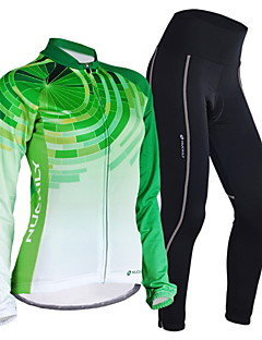 FORIDER® Cycling Jersey with Tights Women's Long Sleeve BikeBreathable / Quick Dry / Windproof / Anatomic Design / Moisture Permeability