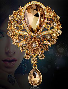 נשים תפס לשיער אופנתי תכשיטי יוקרה תכשיטים קריסטל אבן נוצצת תכשיטים עבור חתונה Party אירוע מיוחד יום הולדת יומי