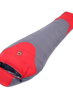 Sleeping Bag Mummy Bag Single -5℃ Duck Down 800g 210X80 Camping KEEP WARM CAMEL