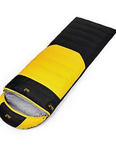 Sleeping Bag Rectangular Bag Single -5 Duck Down 1100g 210X80 Traveling Waterproof / KEEP WARM Jack Wolfskin