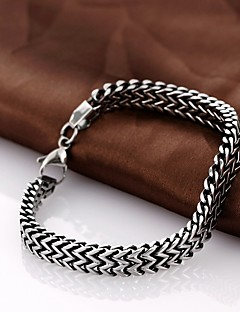 Personality Retro Men's Stainless Steel Bracelet Jewelry Christmas Gifts