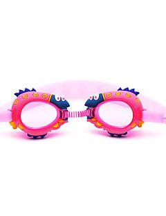 плавательные очки Детские Противо-туманное покрытие / Водонепроницаемый Силикагель Поликарбонат Тёмно-синий / красный / розовый / синий