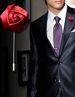 Herrn Damen Broschen Kristall Aleación Modisch Rot Blau Rosa Wein Hellblau Schmuck Hochzeit Party Geburtstag Verlobung Alltag Normal