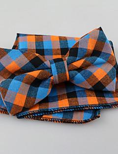 עניבה ואסקוט וינטאג' / חמוד / מסיבה / עבודה / יום יומי,גברים כותנה