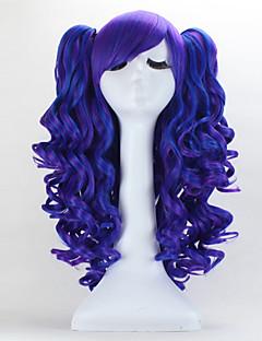 고딕 로리타 / 달콤한 로리타 70cm 긴 푸른 로리타의 가발