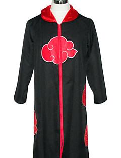 קיבל השראה מ Naruto Akatsuki אנימה תחפושות קוספליי חליפות קוספליי דפוס גלימה עבור זכר נקבה