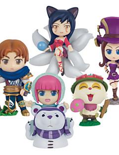 League of Legends Andre PVC Anime Action Figurer Modell Leker Doll Toy