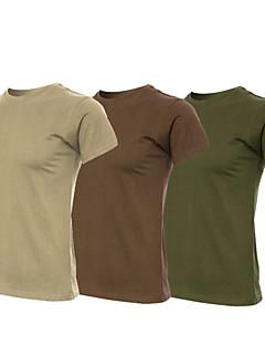 Unisex T-paita vaellukseen Korke hengittävyys (>15,001g) Hengittävä Pehmeä Kevyet materiaalit Hikeä siirtävä T-paita varten Jooga