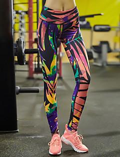 לנשים ריצה מכנסיים חותלות תחתיות נושם ייבוש מהיר דחיסה חומרים קלים תומך זיעה אביב קיץ סתיו חורף יוגה פילאטיס כושר גופני ספורט פנאי ריצה