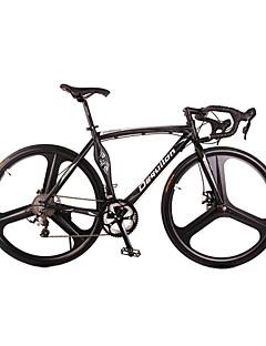 Rennräder Radsport 18 Geschwindigkeit 26 Zoll/700CC Unisex SHIMANO TX30 BB5 Scheibenbremsen Luftfederkabel Aluminium Rahmen Aluminium