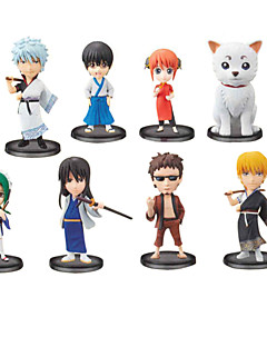 Gintama Gintoki Sakata 7CM Anime Action-Figuren Modell Spielzeug Puppe Spielzeug