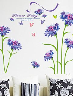 Blumen Wand-Sticker Flugzeug-Wand Sticker,PVC 60X90X0.1