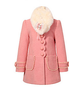 Girl Jacket & Coat,Cotton Winter Long Sleeve