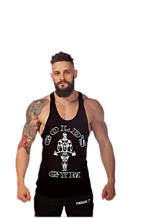 Running Tank / Tops Men's Breathable / High Breathability (>15,001g) / Quick Dry / Lightweight Materials Tactel Fitness / Running Sports