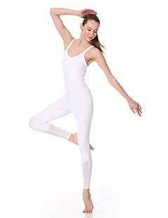 Ioga Conjuntos de Roupas/Ternos Calças+Tops Secagem Rápida / wicking / Redutor de Suor Stretchy Wear Sports Mulheres-YokalandIoga /