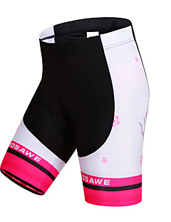 WOSAWE Cycling Padded Shorts Women's Bike Padded Shorts/Chamois Shorts Bottoms Breathable Quick Dry Windproof Limits BacteriaSpandex