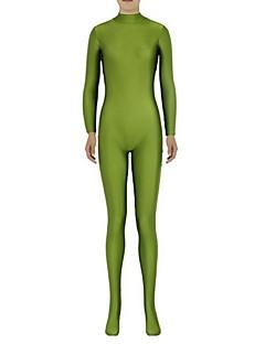 Zentai kombinézy Morphsuit Ninja Zentai Cosplay kostýmy Zelená Jednobarevné Leotard/Kostýmový overal Zentai Spandex Lycra UnisexHalloween