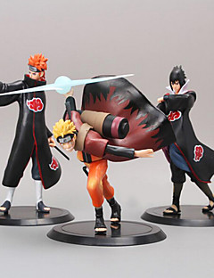 Naruto Anime Action Figure 19CM Model Toy Doll Toy(3 Pcs)