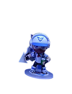 League of legends Anime Action Figure 11CM Model Toy Doll Toy