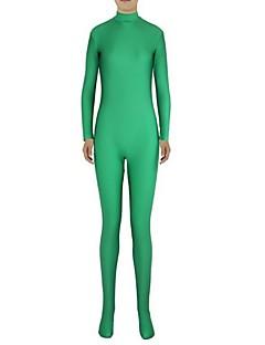 Unisex Zentai Suits Lycra / Spandex Green Zentai