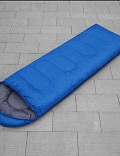 שק שינה שק שינה מלבני יחיד 10-20 כותנה חלולה 240g 185cmX75cm קמפינג / חוף / לטייל / חוץ / בתוך הביתחדירות ללחות / עמיד ללחות / עמיד למים