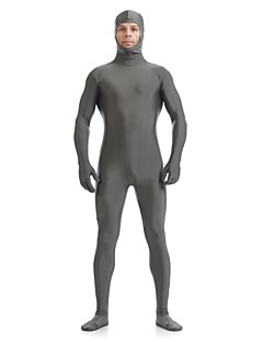 Face open Solid Color Second Skin Lycra Spandex Zentai Full Body Sui