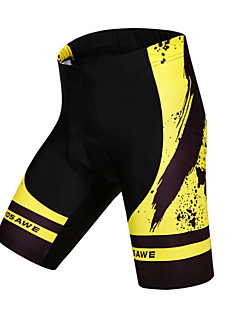 Wosawe® Cycling Padded Shorts UnisexBreathable / Quick Dry / Anatomic Design / 3D Pad / Anti-skidding/Non-Skid/Antiskid / Limits Bacteria