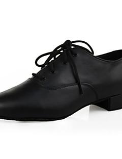 Latin / Modern-Pantofi de dans(Negru) -Personalizabili-Bărbați