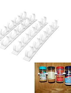 Gewürzordnungsregal Clips Schranktür Flaschen Wand Küche Koch Werkzeuge montieren