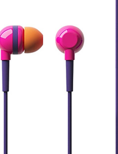 Iriver BWC-30M Headphones 3.5mm In Ear Stereo Music for iPhone 6/iPhone 6 Plus with Mic(Assorted Colors)