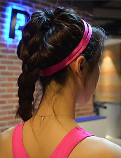 vrouwen mannen yoga haarbanden sport hoofdband anti-slip elastische rubberen zweetband voetbal yoga running fietsen