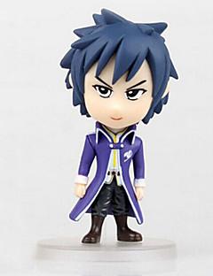 Fairy Tail Otros 8CM Las figuras de acción del anime Juegos de construcción muñeca de juguete