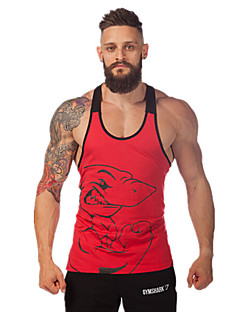 Running Tank / Tops Men's Sleeveless Breathable / Quick Dry / High Breathability (>15,001g) / Sweat-wickingExercise & Fitness / Leisure