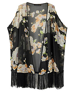 Ermeløs Skjorte V-hals Dusk Polyester Kvinner