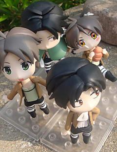 Attack on Titan Muut PVC One Size Anime Toimintahahmot Malli lelut Doll Toy