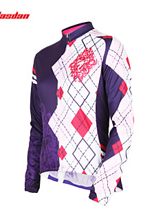 TASDAN® Cycling Jersey Women's Long Sleeve Bike Breathable / Quick Dry / Ultraviolet Resistant / Sweat-wicking Jersey / Tops100%