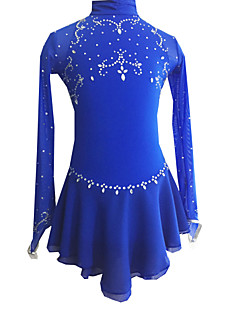 Skating Dresses Women's Royal Blue S / M / L / XL / 6 / 8 / 10 / 12 / 16 Others
