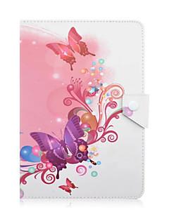 PC del diseño de la tableta de 10 pulgadas universal del dibujo o patrón de piel de color magnético del caso de la caja elegante