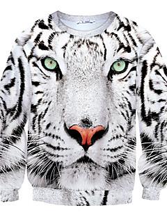 Pánské Polyester Tisk Activewear Sady Denní nošení Dlouhý rukáv