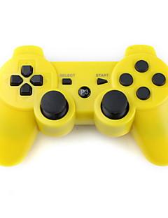 reîncărcabilă controler USB wireless pentru PS3 (galben)