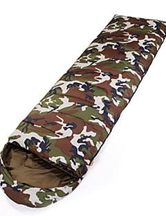 Sleeping Bag Rectangular Bag SingleHollow Cotton220X75 Hiking / Camping Moistureproof/Windproof