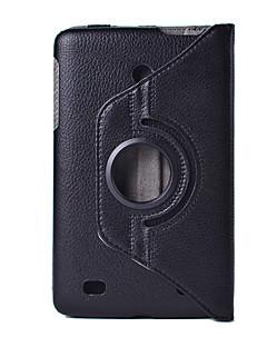 caso de la manera para LG G cojín V400 V410 tableta caja de cuero de la PU de 7,0 pulgadas cubierta de 360 grados de rotación