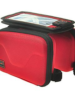 Acacia® תיק אופניים 0.7LLתיקים לכידון האופניים עמיד למים / רוכסן עמיד למים / ניתן ללבישה / מסך מגע תיק אופנייםניילון / פוליאסטר /