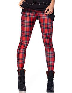 Medium-Polyester / Spandex-Legging-Vrouw-Legging