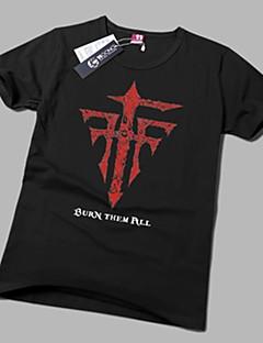 geinspireerd door Cosplay Cosplay Anime Cosplay Kostuums Cosplay T-shirt Print  Geel Korte mouw T-Shirt