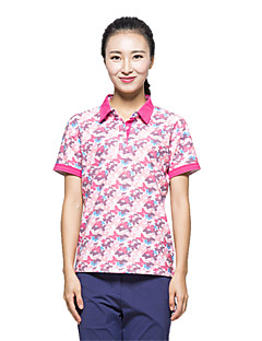 KORAMAN Women's Summer Short Sleeve T-shirt Printing Quick-dry Unti-UV Breathable