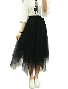 א-סימטרי-שקוף-סגנון-חצאית(חוטי זהורית)
