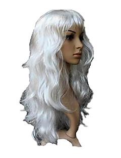 Cosplay Perücken Cosplay Fest/Feiertage Halloween Kostüme Weiß einfarbig Perücke Halloween Frau