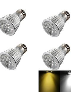 5W E26/E27 Spot LED R63 5 LED Haute Puissance 400 lm Blanc Chaud / Blanc Froid Gradable / Décorative AC 85-265 / AC 100-240 / AC 110-130 V