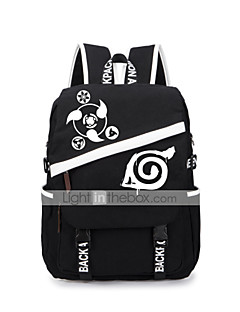 Bag Inspirirana Naruto Naruto Uzumaki Anime Cosplay Pribor Bag / ruksak Crna Canvas Male / Female